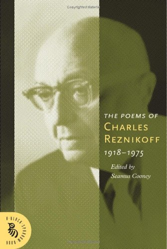 The Poems of Charles Reznikoff 1918-1975