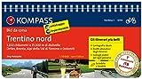 Rennradführer Trentino Bd 1: Trentino Nord, italienische Ausgabe: Fahrradführer mit Top-Routenkarten im optimalen Maßstab. (KOMPASS-Fahrradführer)