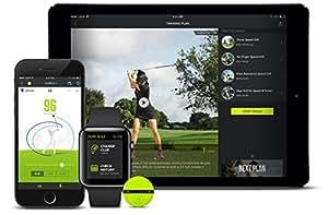 Zepp2 Golf Kit per iPhone/iPad/Android, Sensore Agganciabile con Supporto da Fissare al Guanto, Collegamento in Wireless, Verde