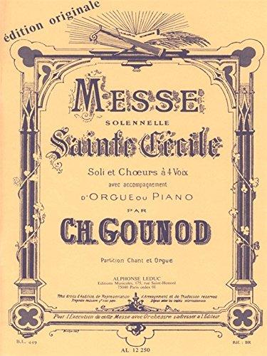 MESSE SOLENNELLE DE SAINTE CECILE/PARTIT...