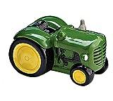 "Burton & Burton 5"" x 2.5"" Ceramic Tractor Money Bank"