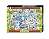 Heye 29692 - Standardpuzzle, Marino Degano Zoo Polar Habitat, 1000 Teile