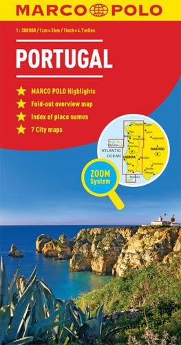 Portugal Marco Polo Map (Marco Polo Maps) por Marco Polo