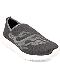 CF_Better Deals | Synthetic| White-Grey Color| Casual Shoes| Sneakers| Canvas Shoes| Leather Shoes| Office Shoes...