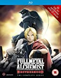Fullmetal Alchemist Brotherhood - Complete Series Box Set (Episodes 1-64) [Blu-ray] [UK Import]