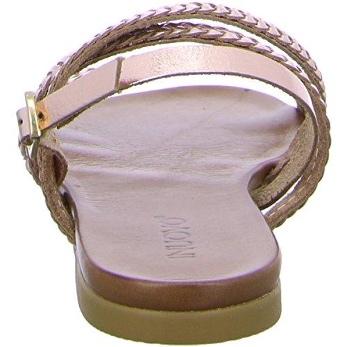 Inuovo 6203 Damen Slingback Sandalen Shiny Blush
