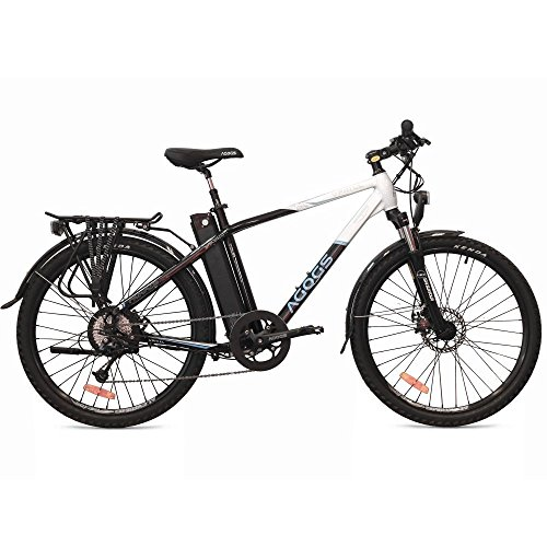 Agogs Tour 26 inch Electric Bicycle Mountain Bike MTB Uphill 48 cm ...