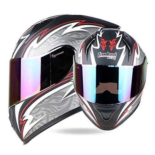 Motorradhelm Motocross Moto Helm Sturzhelm Roller Reiten