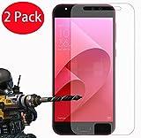 """FoneExpert® 2 Pack - Zenfone 4 Selfie Pro ZD552KL Verre Trempé, Vitre Protection Film de Protecteur d'écran Glass Film Tempered Glass Screen Protector pour ASUS Zenfone 4 Selfie Pro ZD552KL (5.5"""")"""
