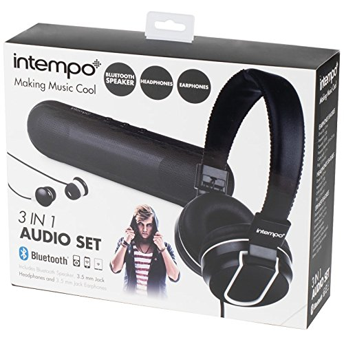 Portable Audio & Headphones Sensible Intempo 3-in-1 Audio Set Grey