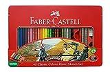 Faber-Castell Buntstifte Classic erhältlich in 12bis 48Farben Tin box 48 color sketch set