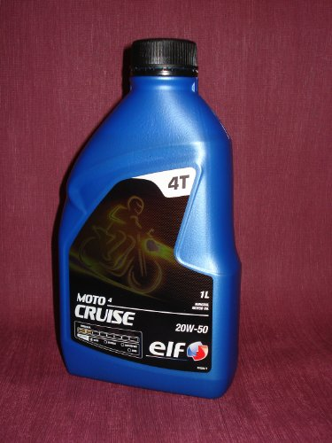 ELF MOTO 4 CRUISE 20W-50 mineralisches Motorradöl / Motoröl