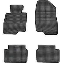 Gummimatten Gummi-Fußmatten für Mazda 6 II-Generation Bj ab 2007