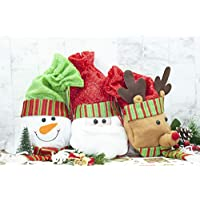 Happium - Christmas Wine Bottle Cover Knitted - 3pcs