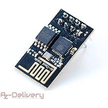 AZDelivery Esp8266 01 ESP-01 Wi-Fi / WiFi Módulo para Arduino y Raspberry Pi