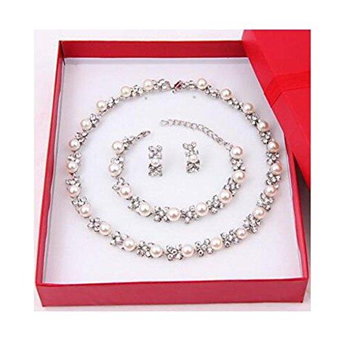 GYJUN Schmuck Halsketten Ohrringe Armbänder & Armreifen Stränge Jubiläum Geburtstag Glückwünsche Hochzeit , one size