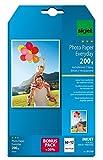 SIGEL IP719 Papier photo Everyday jet d'encre, ultra brillant, format 10 x 15 cm, 200 g/m², 60 feuilles + 12 gratuites...