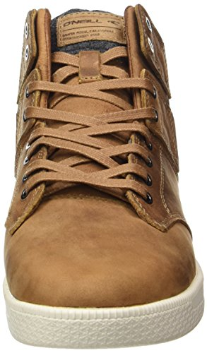 O'Neill Herren Raybay LX Leather High-Top Beige (Tan)