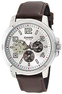 Casio Enticer Men's Analog Silver Dial Men's Watch - MTP-X300L-7AVDF (A1062)