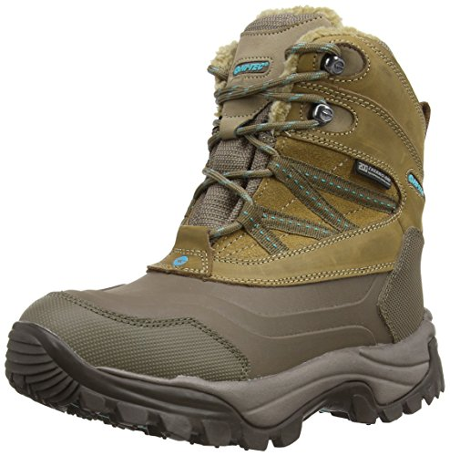 Hi-Tec Snow Peak 200 Wp Women's Damen Wanderschuhe, Braun (Taupe/Mint), 39 EU (6 UK)