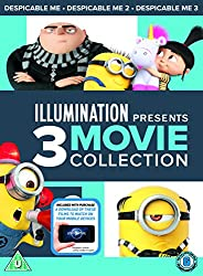 Despicable Me 1-3 Boxset (DVD + digital download) [2017]