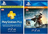 PS Plus Mitgliedschaft 12 Monate + Titanfall 2 Deluxe Edition Content DLC [PS4 Download Code - österreichisches Konto]
