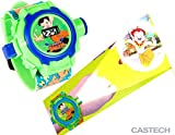 LED digital 24 projector CHHOTA BHEEM Go cartoon watch Snow CHHOTA BHEEM children wristwatches clock girl & Boy gift baby toys