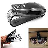 2*Stück KFZ Auto Brillenhalter LKW Sonnenblende Sonnenbrillenhalterung langlebig Brillenablage Klammer Karten Brille Organizer Halter