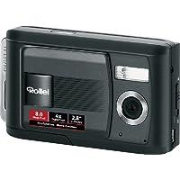 Rollei Compactline 82 SE Digitalkamera (8 Megapixel, 4-fach digitaler Zoom, 7,1 cm (2,8 Zoll) Display, schwarz
