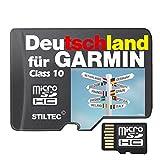 Topo Karte Deutschland Höhenlinien Garmin Edge 800 810 1000 Touring Plus Etrex