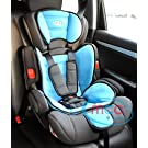 Mcc Blue 3in1 Convertible Baby Child Car Safety Booster Seat Group 1/2/3 9-36 kg