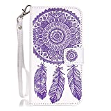 Wallet Case for Huawei Y625, Skitic Premium PU Leather Flip