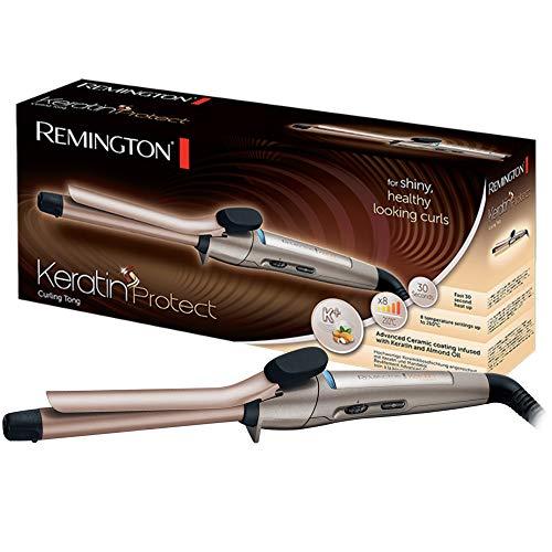 Remington Lockenstab Keratin Protect CI5318, 19 mm, hochwertige Keramikbeschichtung mit Keratin und Mandelöl, braun