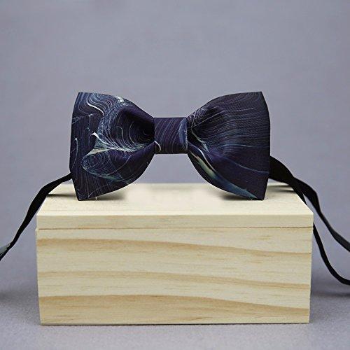 Bow Tie, original handgemachte, des Bräutigams Fliege, Fliege, Geschenkbox, hölzernen (Clown Übergroße Schuhe Kinder)