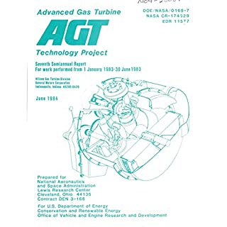 Advanced Gas Turbine (AGT) Technology Project