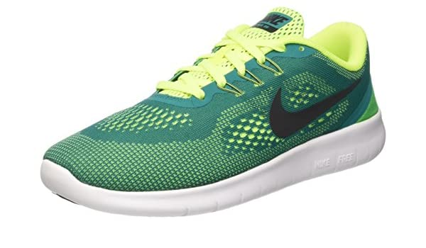 9eafa109413f9 Unisex Kids  Running Blue. Nike Free Rn (Gs) ...