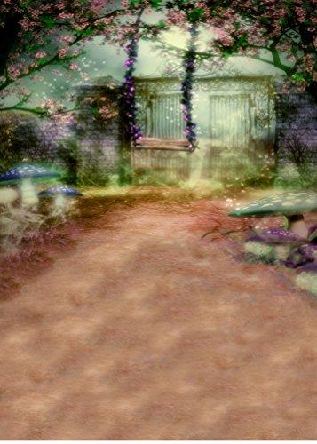 Traum Gartenschaukel Fotografie Backdrops Foto Stützen Studio Hintergrund 5x7ft