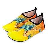 Nan Erwachsene Schwimmen Schuhe Wasser Schuhe Leichte und Bequeme Elastizität Unisex Schnorcheln Schuhe Tauchen Schuhe Strand Socken Liebhaber Yoga Schuhe (Farbe : Gelb, Größe : 40/41)