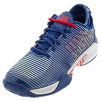 K-Swiss Hypercourt Supreme Mens Tennis Shoes, Dark Blue/Glacier Gray/Bittersweet (US Size 10.5)