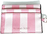Wallet Card Holder Victoria Secret Credit Card Holder Leather Card Case ID Organizer Key Chain
