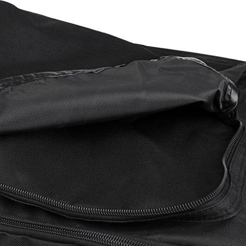 MagiDeal Borsa a Tracolla Grande Viaggio Sportiva Bagagli Sacchetto per All'aperto in Campeggio Palestra - Nero, 80*40*30cm Nero, 90*40*30cm