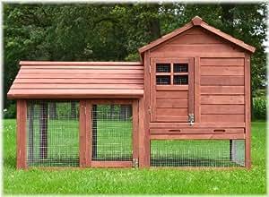 Zooprimus Kaninchenstall 15 Hasenkäfig - HASENBURG - Stall