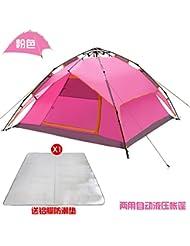 Azul, Verde, Al Aire Libre, Carpas, Camping, Carpas, 220 * 200 * 130Cm,Pink