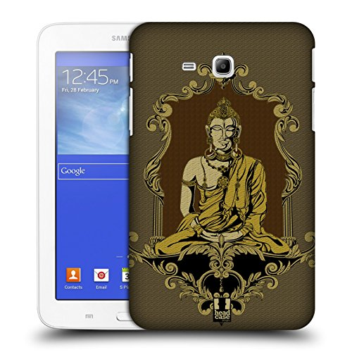 Head Case Designs New York Monumenti Dei Paes Cover Morbida In Gel Per Apple iPhone 7 Plus / 8 Plus Indiano Buddha