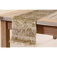 Boltze Tischdecken /& läufer Warin Tischband braun 120 x 20 1 cm