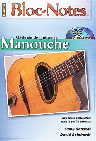 Bloc Notes Guitare Manouche DVD + CD
