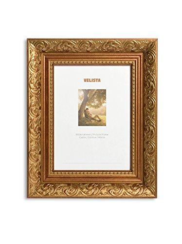 Bilderrahmen (21x30, Gold glänzend) (Gold-herz-bilderrahmen)