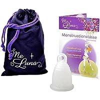 Me Luna Coupe menstruelle Soft, bague en argent de Glitter, Taille S