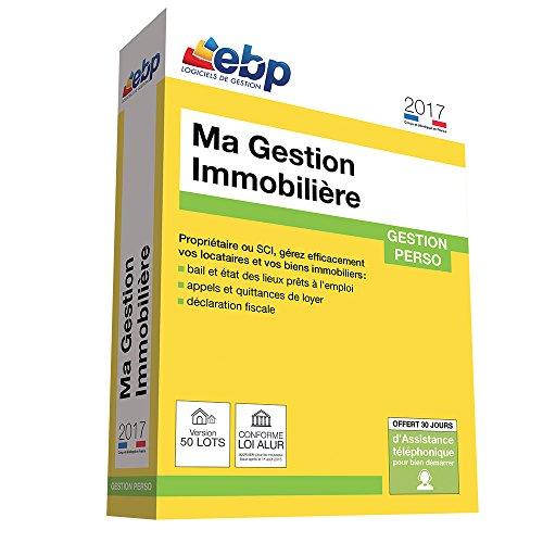 EBP Ma Gestion Immobilière 2017 version 50 Lots