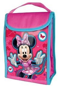 Joy Toy 734553 - Bolsa térmica con diseño de Minnie (18 x 12 x 24 cm)